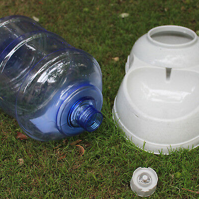 11 Litre Automatic Pet Dog Cat Water Feeder Bowl Parts Connector/ Bottle/ Base
