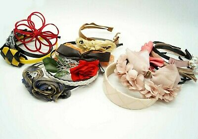Joblot Hair Accessories Hairbands Clips Bows Assorted Mixed Bulk Buy Bundle New
