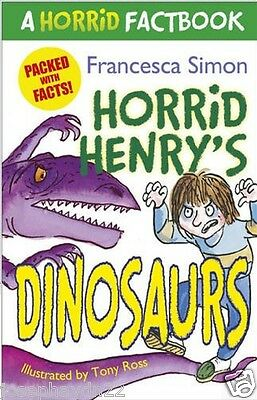 NEW   HORRID HENRY'S -  DINOSAURS - FACTBOOK  book Horrid Henry