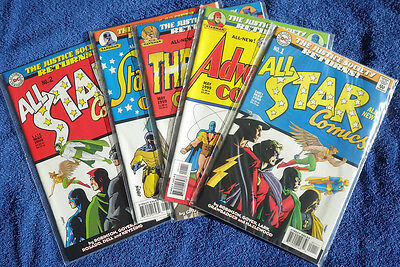 Justice Society Returns! All-Star #1 #2 plus 7 other #1 issues! High Grade!