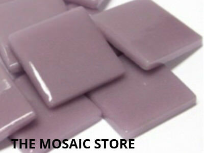 Lilac Gloss Glass Tiles 2.5cm - Mosaic Tiles Supplies Art Craft