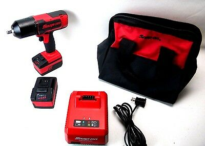 """Snap-On CT8850 1/2"""" drive 18V Lithium Cordless Impact Wrench Kit (F3)"""