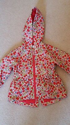 girls raincoat 12-18 months