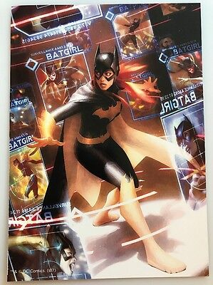 Batgirl Batman Joker DC Comics Mini Poster 2 Sided 5x7