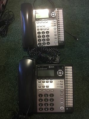 Set Of 2 AT&T Small Business Phones #1070- Used