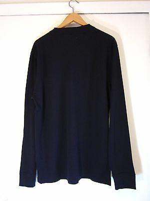 Used Navy Long Sleeve Shirt by Steven Alan Size L 100% Cotton