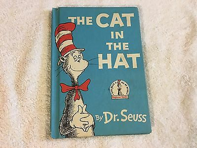 1957 Beginner Books The Cat In The Hat By Dr. Seuss (Book Club Edition)