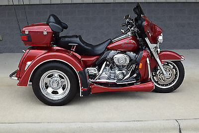 2007 Harley-Davidson Touring  2007 FLHT MOTOR TRIKE *FLAWLESS* ONLY 2745 MILES!! AIR RIDE & REVERSE! LOW PMTS!