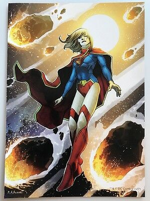 Justice League Supergirl DC Comics Mini Poster 2 Sided 5x7