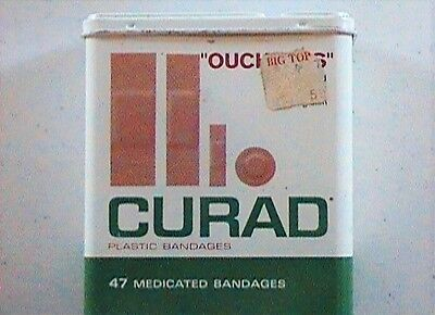 1969 Curad Band Aid Tin (No Band Aids)