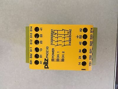 PILZ, Safety Relay, PNOZ X3