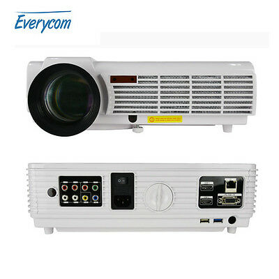 projector Android4.4 wifi 1280x800 Support Full HD 1080p Video 3D LED