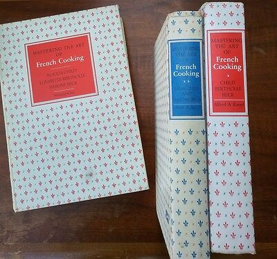 Mastering the Art of French Cooking by Julia Child (1961, Hardcover) and Bonus