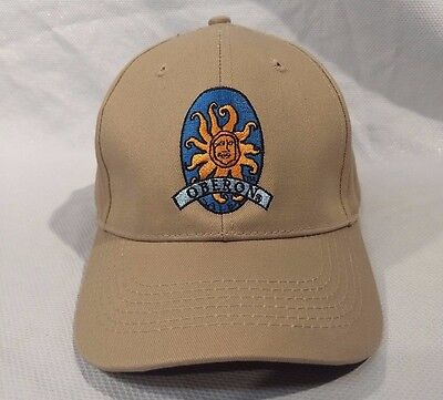 Bell's Brewery Oberon Hat Cap Beer Adult Sized Adjustable Embroidered Logo NEW