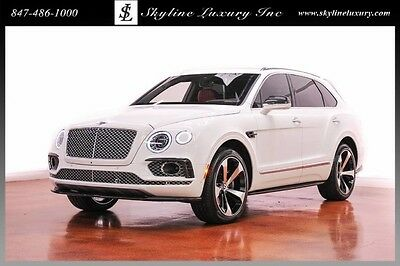 2017 Bentley Other First Edition Sport Utility 4-Door 2017 Bentley W12
