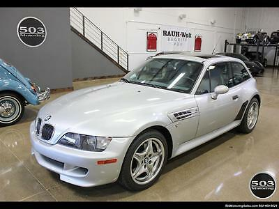 2001 BMW M Roadster & Coupe M Coupe; S54 in Silver w/ Only 23k Miles! 2001 BMW M Coupe; S54 in Silver w/ Only 23k Miles! 5 Speed Manual