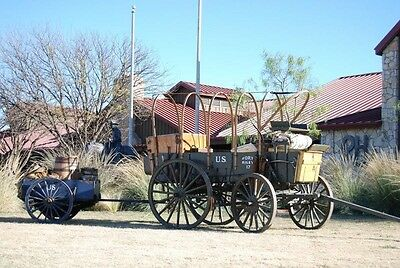 Horse Drawn Wagon Escort Wagon Chuck Wagon Antique Wagon