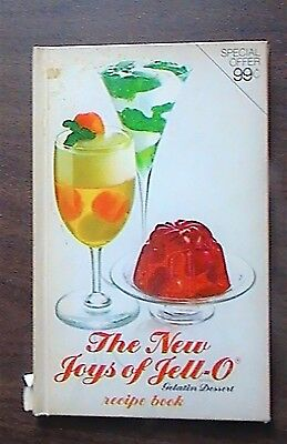 The New Joys of Jell-O Recipe Book 2nd Edition 1974