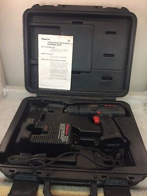 """Snap On Tools CDR40 Cordless 3/8"""" Drill w/ Charger and manual"""