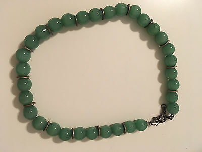Aventurin Necklace - 15.7 inches - used