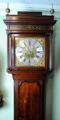 Mahogany Liverpool Longcase  Grandfather Clock
