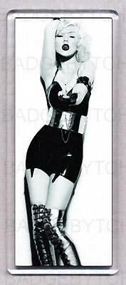 CHRISTINA AGUILERA not myself tonight  'TALL' FRIDGE MAGNET  Style 'B' - COOL!