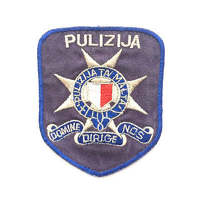 Malta Police Force Shoulder Patch