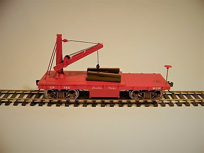 Bachmann Old Time Maintenance of Way Derrick Car Canadian Pacific  HO-Scale