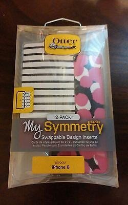 OtterBox My Symmetry Design Inserts  2 Pack for Apple iPhone 6/6s