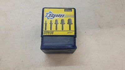 """Spin 5pc Swaging Tools Set SSPIN100 1/4""""-3/4"""""""