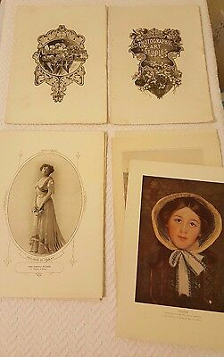 Lot of Vintage Photographic Art Studies Chicago and NY 60+ Photos