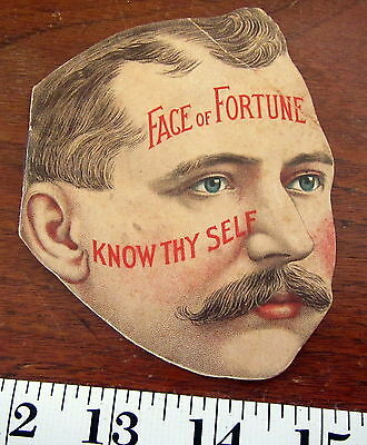 FACE OF FORTUNE  Woodbury Dermatological Institute 1895 Booklet of fortune
