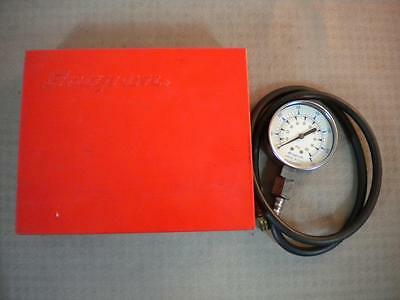 Snap On Kilopascal MT37 Oil Pressure Gauge