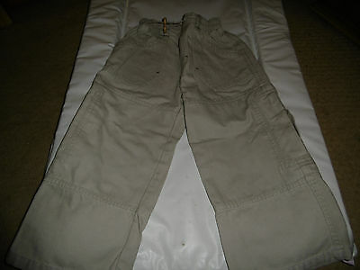 Boys Mayoral Cream Trousers 18-24 Months
