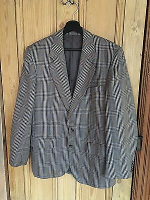 Vintage Aquascutum Suit Jacket Blazer Sports Coat Size Large L