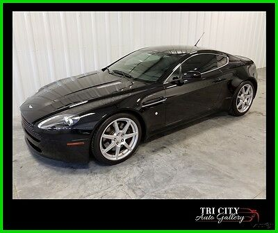 2006 Aston Martin Vantage Base Hatchback 2-Door 2006 Aston Martin V8 Vantage Coupe 6spd Manual