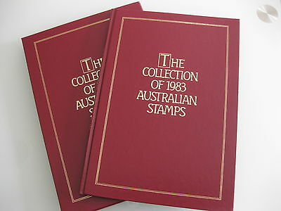 The Collection of 1983 Australian Stamp (Book and stamps)