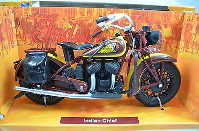 1:12 Indian Chief  Bike Motorcycle Diecast model with Plastic