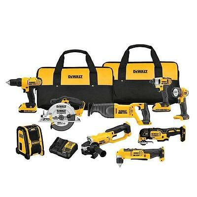 DEWALT 20-Volt MAX Lithium-Ion Cordless Combo Kit (9-Tool), Model DCK940D2
