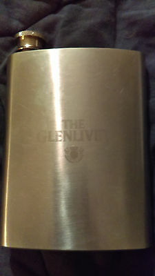 'The Glenvliet'  8oz stainless steel flask