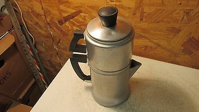 Old Wear Ever Aluminum Drip Coffee Pot- 2 cup