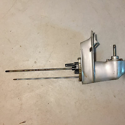 Used Johnson Evinrude 432728 GEARCASE ASSY, Std  OMC 0432728 fits most 4-8 HP