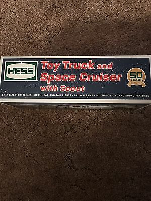 HESS 2014 Toy Truck and Space Cruiser in box