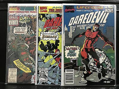Lot of 3 Daredevil Annuals #6 8 9 (1964 Marvel) Combined Shipping Deal!