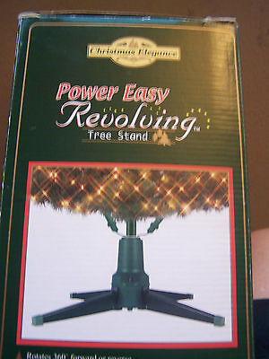 Christmas Tree Stand Power Easy Revolving