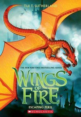 Wings of Fire: Escaping Peril -  Book 8 by Tui T. Sutherland - Free Shipping