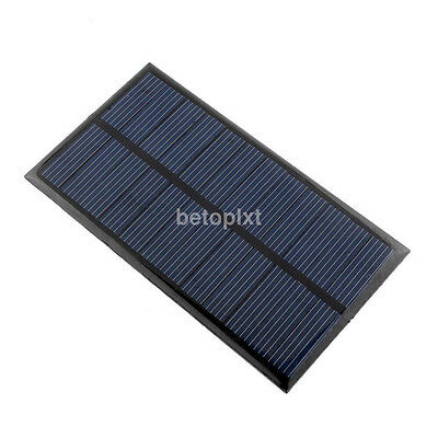 Portable 6V 1W Solar Panel Module DIY Light Battery Cell Phone Toys Chargers FR