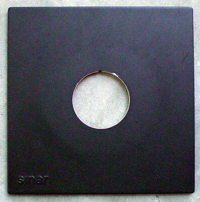 SINAR Lens Board For Sinar Large Format Camera.  Swiss made.