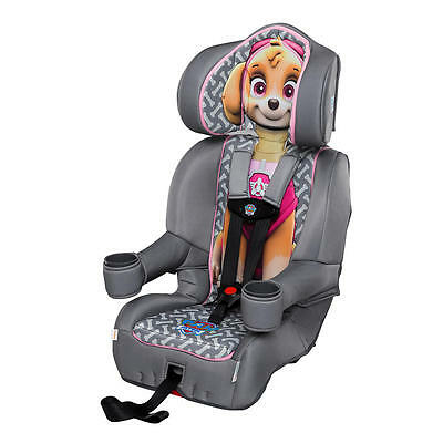 KidsEmbrace Friendship Combination Booster Car Seat - Paw Patrol Skye Brand New!