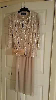 Alex Evenings Gown – Mother of Bride Groom Wedding Evening Prom Gown & Jacket Ch